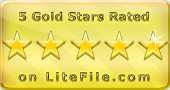 1and1Mail LiteFile 5-Star Rating